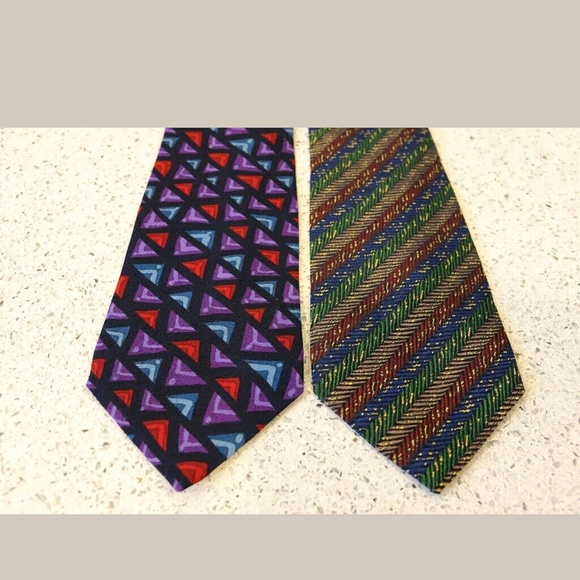 Missoni Other - Two Authentic Missoni Neiman Marcus Silk Neck Ties